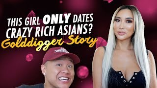 Why She ONLY Dates Crazy Rich Asians. Is She a GOLD DIGGER? - #ad