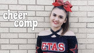 CHIT CHAT GRWM// CHEER COMPETITION