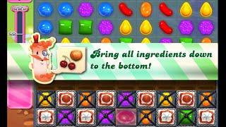 Candy Crush Saga Level 858 walkthrough (no boosters)