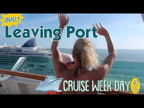 It's Finally A CRUISE! We Leave Port After 24 Hour Fog Delay | New Year's CRUISE WEEK Day 2