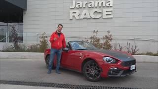 Prueba Abarth 124 Spider en circuito Jarama y carretera