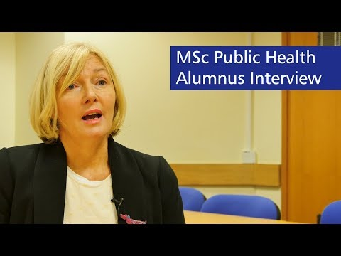 MSc Public Health Alumnus Interview - Canterbury Christ Church University