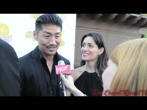 Brian Tee & Mirelly Taylor at the 40th Annual SaturnAwards TheWolverine @mirellytaylor @Brian_Tee