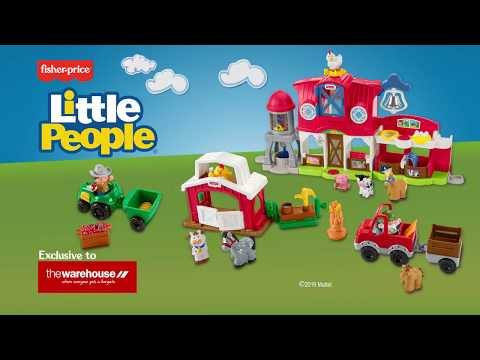 Fisher-Price® Little People® Ultimate Farm Gift Set