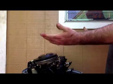 How to start an outboard with no pull start or rope