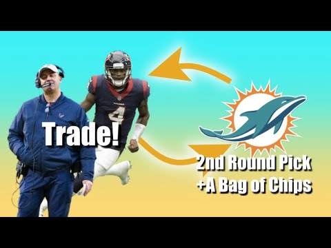 Why The MIAMI Dolphins Should Trade For Deshaun Watson!(218)