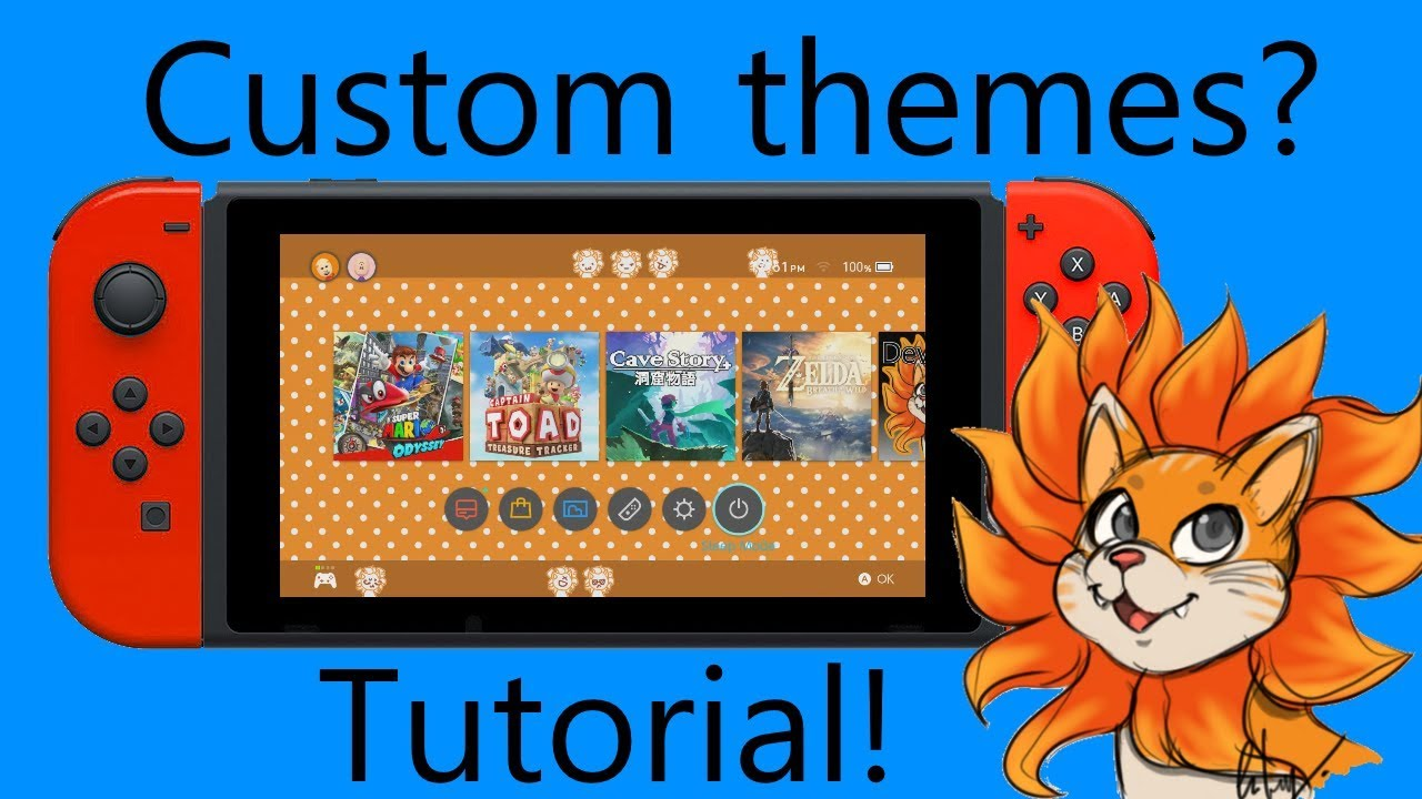 Make YOUR OWN Switch Themes   Easy Tutorial (Windows)