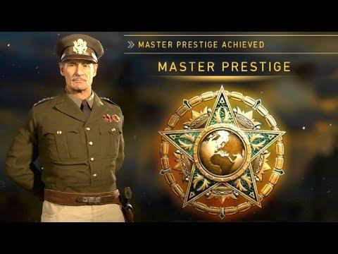 COD WWII: Entering Master Prestige (WHAT HAPPENS?!)