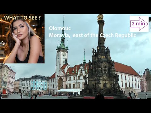 WHAT TO SEE in Olomouc, Moravia, east of the Czech Republic. (2 min. in Europe Collection)