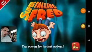 Super Falling Fred - GAME GRÁTIS PARA CELULAR - Gameplay em Português PT-BR