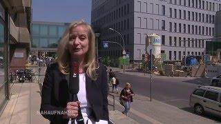 Sanierung nach Plan - Michael Müller besucht Charité Baustelle