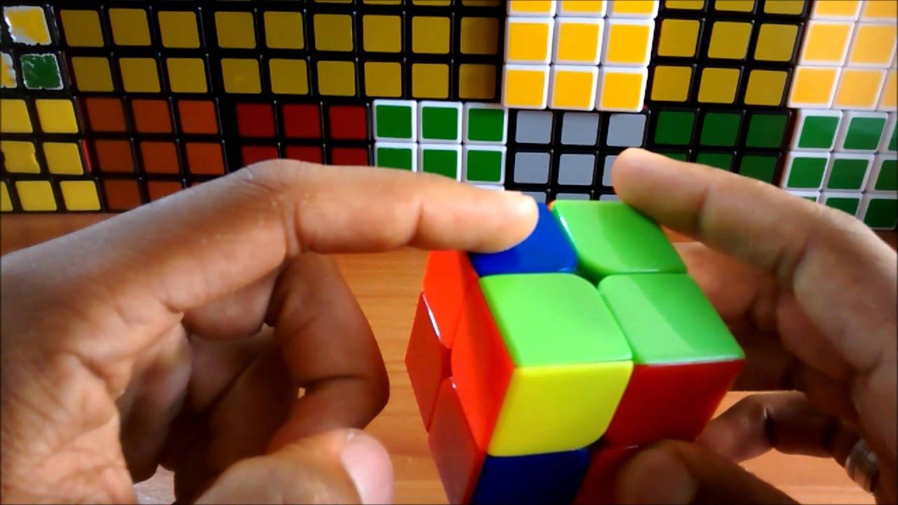 Как собрать кубик рубик 2х2 самый легкий способ схема
