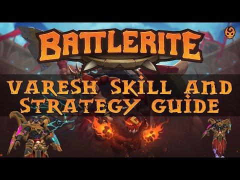 Battlerite Varesh Tutorial - Skill, Tactics, and Battlerites