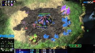 Legacy of the Void Beta - TvZ - Qxc vs Bly - g2- Lycan League