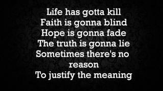 Halestorm - Amen Lyrics