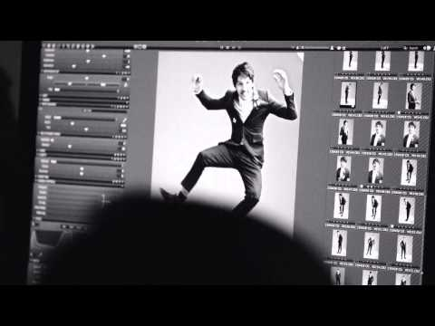 Behind The Scenes Colin Morgan Hunger Magazine Photoshoot