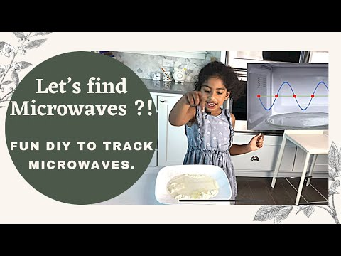 can-we-see-microwaves-?-||-science-at-home-experiment-with-microwaves-#sciencewithsana