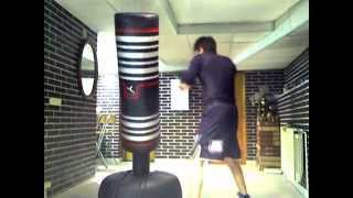 Bas Rutten Workout- Boxing - 2 Minute Rounds x 5