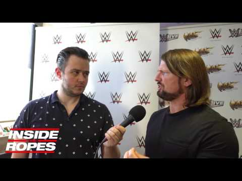 AJ on his relationship with Vince McMahon
