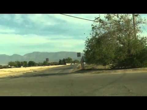 Manejando calles de Palmdale California