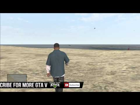 GTA 5:HOW TO SPAWN A BUZZARD HELICOPTER (CHEAT CODE) (GTA V)