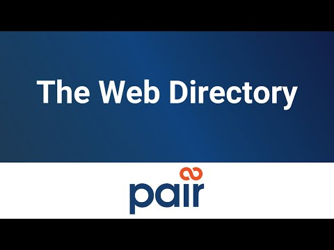 The Web Directory