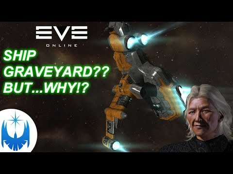 Eve - Abandoned Ship Graveyard!! But...WHY???