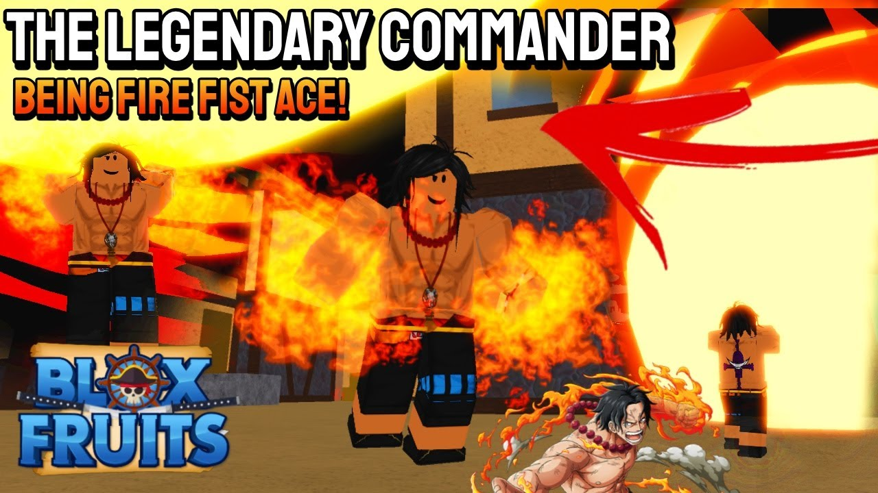 I Became FIRE FIST ACE For A Day in Blox Fruits | Roblox #bloxfruits