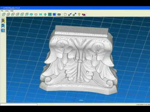 Creating Editable 3D Models with an LPX Laser Scanner