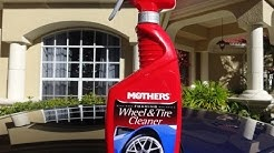 Mothers Wheel and Tire Cleaner review and test results on my 2001 Honda Prelude