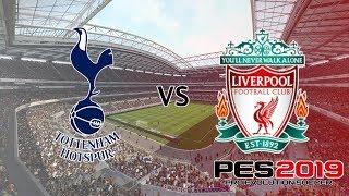 Tottenham vs Liverpool - Premier League 2018/19 Season - PES 2019