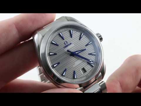 Omega Seamaster Aqua Terra 150m 220.10.41.21.06.001 Luxury Watch Review