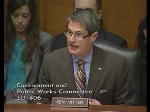 Vitter Opening Statement at EPW Climate Change Hearing