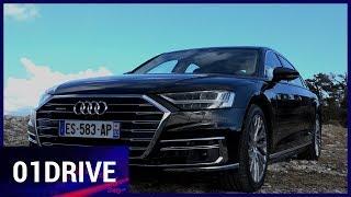 Essai A8, la plus perfectionnée et la plus techno des Audi