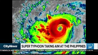 Mass evacuation as typhoon set to hit the Philippines