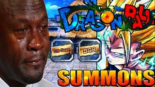 MY SECOND SSJ3 ANIMATION!! Worst Dokkan Battle Dragon Ball Summons