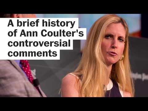 A brief history of Ann Coulter's controversial comments