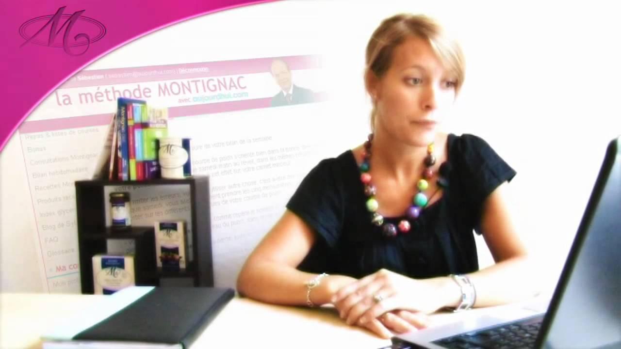 Sybille montignac vous pr sente la m thode montignac youtube for Methode montignac
