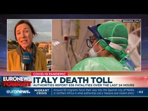 Italy death toll: