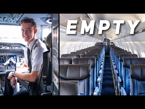 What It's Like To Fly An EMPTY Jet | Airline Pilot Life
