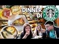 Dinner Di Starbucks!! Bisa?? Ft Elisabeth Wang