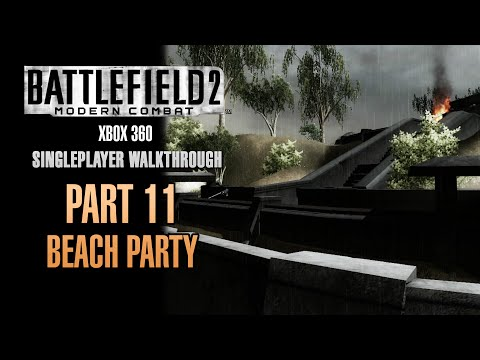 Battlefield 2: Modern Combat Walkthrough (Xbox 360) - Part 11 - Beach Party