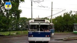 Черкасский троллейбус- ЗиУ-683Б №2024 08.05.2016