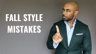10 Worst Men's Fall Style Mistakes