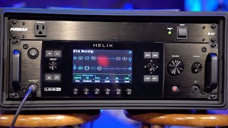 Line 6 Helix (Rack/Foot Controller) - First Impressions & Unboxing/Sound Test