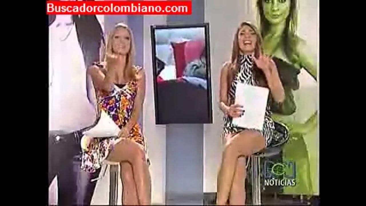 Fotos de presentadoras colombianas sin ropa interior 32