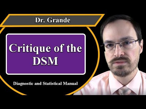 Opinions about the Diagnostic and Statistical Manual (DSM)