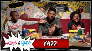 Do You Have Groupies? w/ Yazz aka Hakeem from Fox's Empire - Arts & Raps #ArtsNRaps