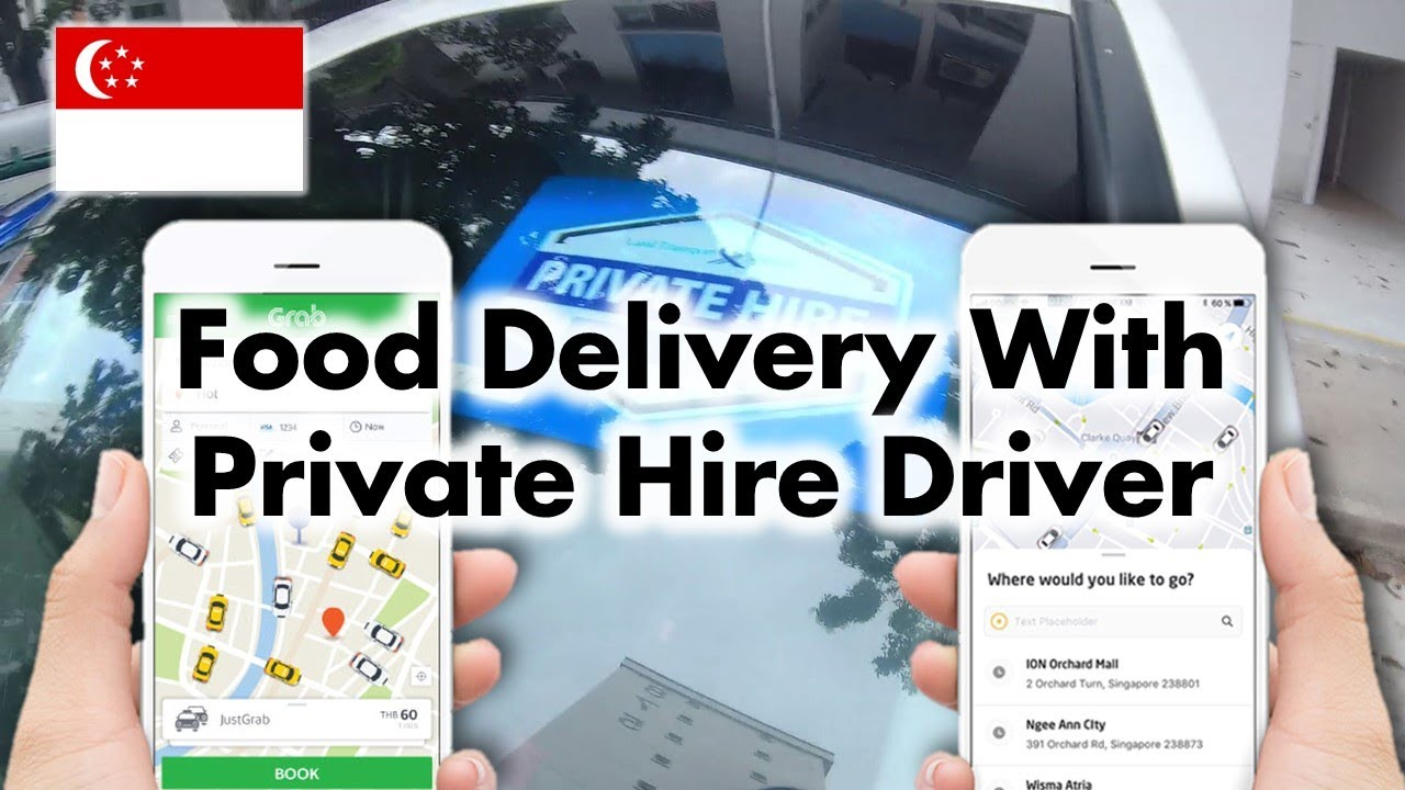 Grab/GoJek PHV Driver : Food Delivery
