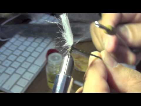 毛針作り2 パラシュート - YouTube